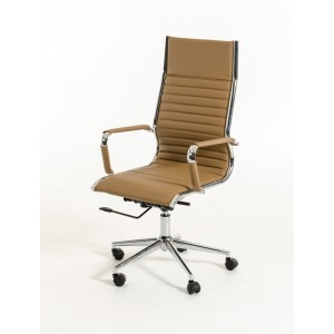Modrest Madison Modern Brown Leatherette Office Chair