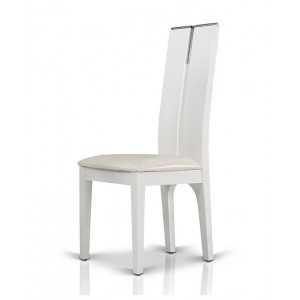 Modrest Maxi White Gloss Chair