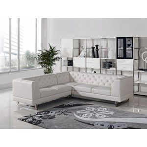 Divani Casa Windsor Modern Leatherette Sectional Sofa