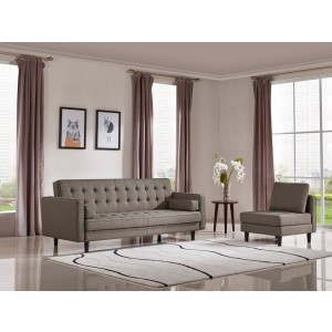 Exceptional Divani Casa Kestin Modern Brown Sofabed U0026 Chair Set