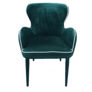 Modrest Tigard Modern Green Fabric Dining Chair