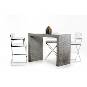Modrest McGee Modern Concrete Bar Table