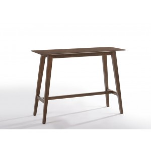 Modrest Steed Modern Walnut Bar Table