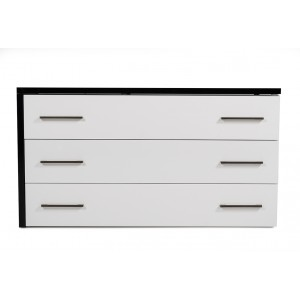 Modrest Moon Contemporary Black & White Dresser