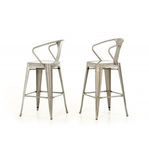 Modrest Ned Modern Steel Bar Stool