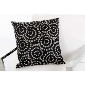 Modrest Orbit Black and White Throw Pillow