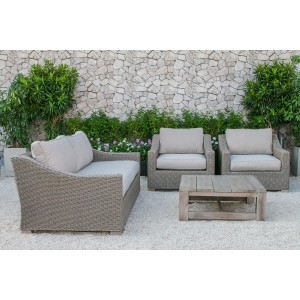 Renava Palisades Outdoor Wicker Sofa Set