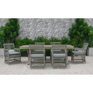 Renava Sonoma Outdoor Dining Table Set
