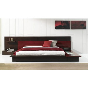 Modrest Rimini Contemporary Walk-On Platform Bed
