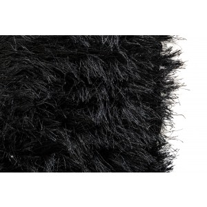 Modrest Sitka by Linie Design Modern Black Small Area Rug
