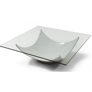 Modrest Sunset Modern White Coffee Table