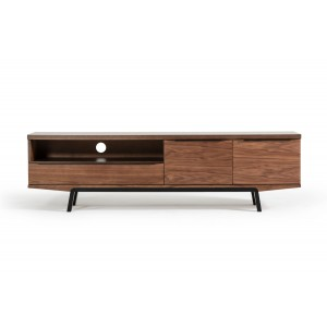 Modrest Sloan Modern Walnut TV Stand