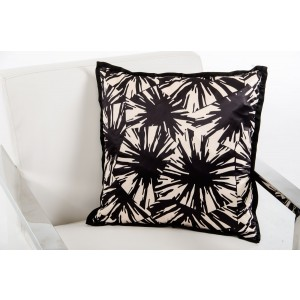 Modrest Supernova Black and White Throw Pillow