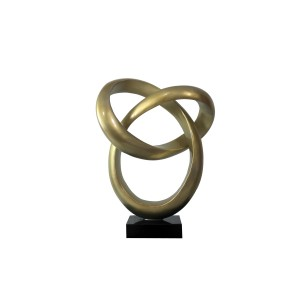 Modrest Halo Modern Gold Sculpture