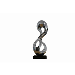 Modrest Eternity Modern Silver Sculpture