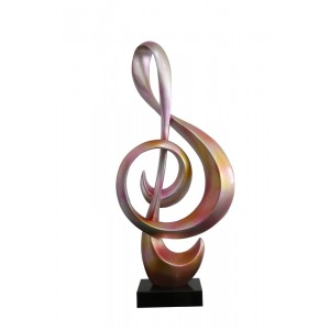 Modrest Clef Modern Metallic Sculpture