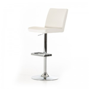 Modrest Jason Modern White Bar Stool