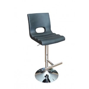 Modrest Lauda Modern Black Bar Stool