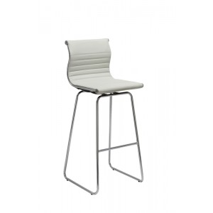 Modrest Amara Modern White Bar Stool