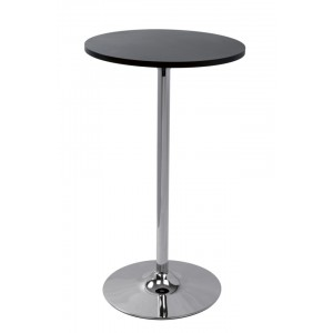 Modrest Tal - Contemporary Black Matte Bar Table