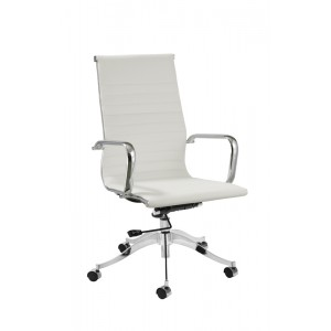 Modrest Graham Modern White Office Chair