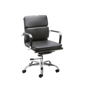 Modrest Tomar Modern Black Office Chair