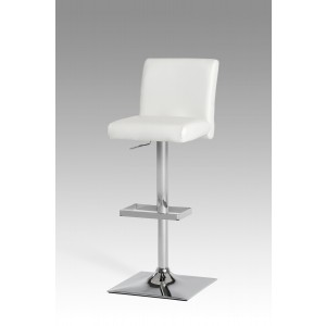 Modrest Marnice Modern White Bar Stool