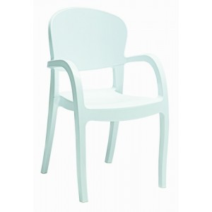 Modrest Temptress - Modern High White Gloss Italian Dining Chair