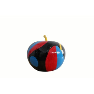 Modrest Apple Modern Multi-Color Sculpture