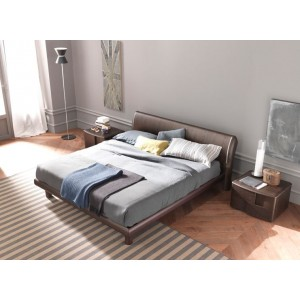 SMA Trendy Wenge Bed - Made in Italy