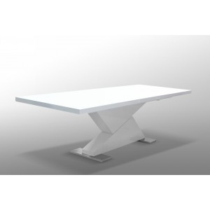 "Modrest Bono ""Z"" - Modern White Dining Table"