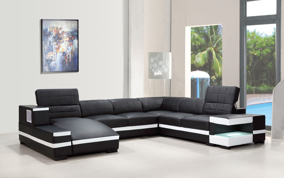 : bonded leather sectional sofa - Sectionals, Sofas & Couches