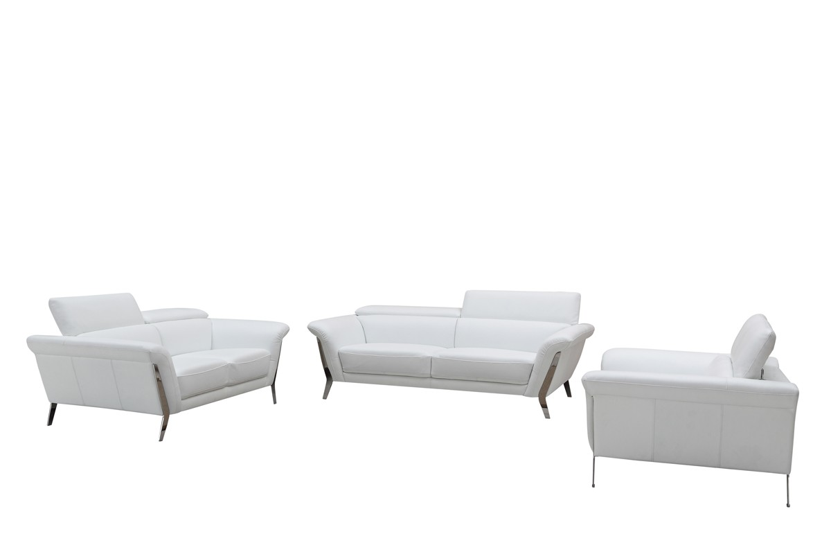 white leather sofas modern trendy furniture appealing
