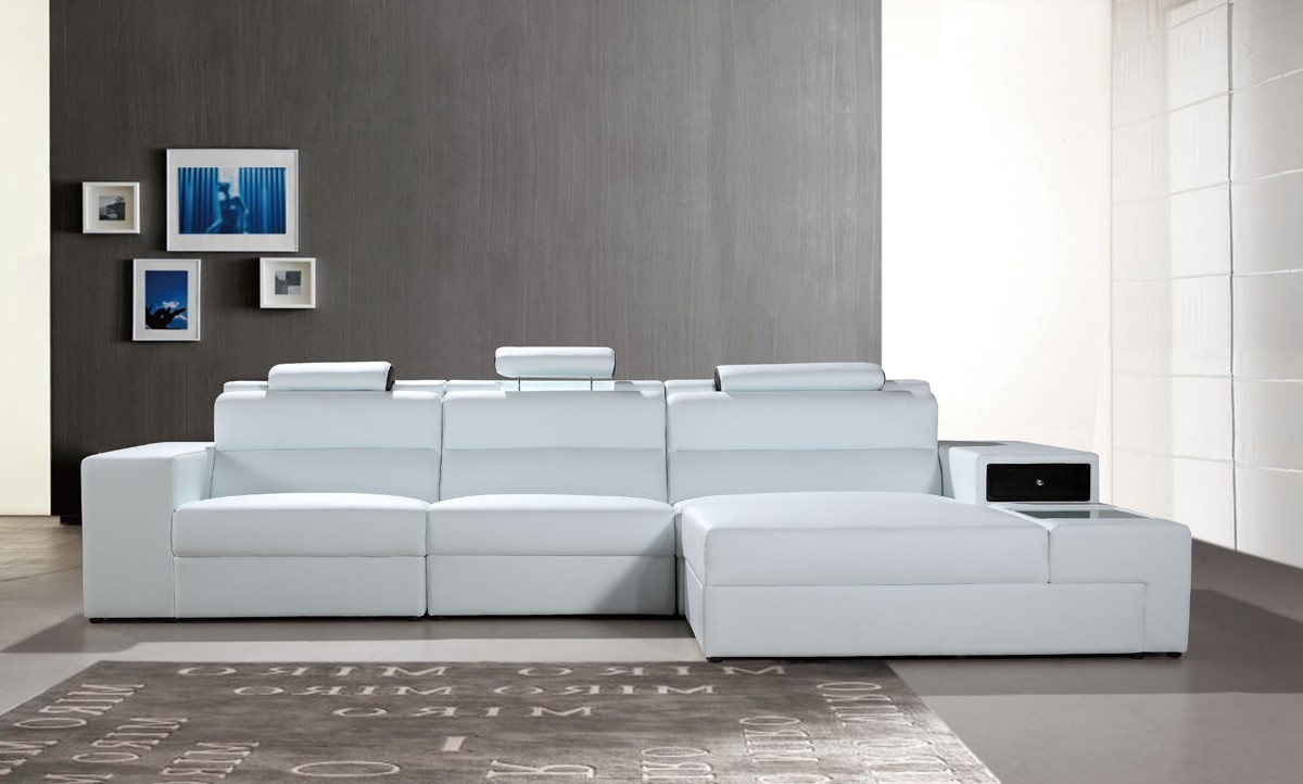 Divani Casa Polaris Mini Contemporary Bonded Leather