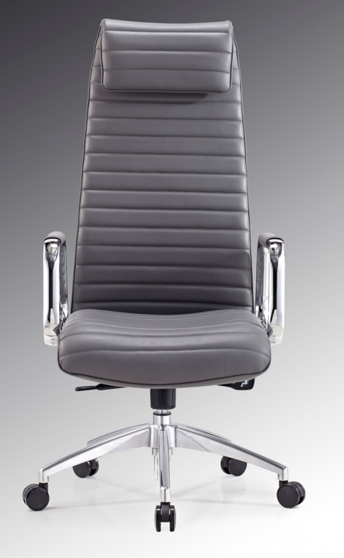 office office chairs modrest mayer modern grey high back office chair