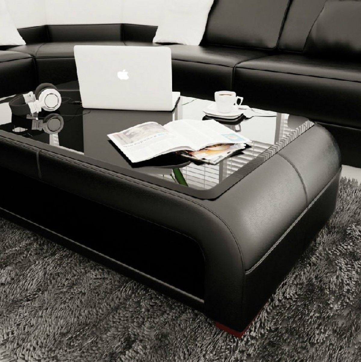image tables attachment leather table stylish description coffee and