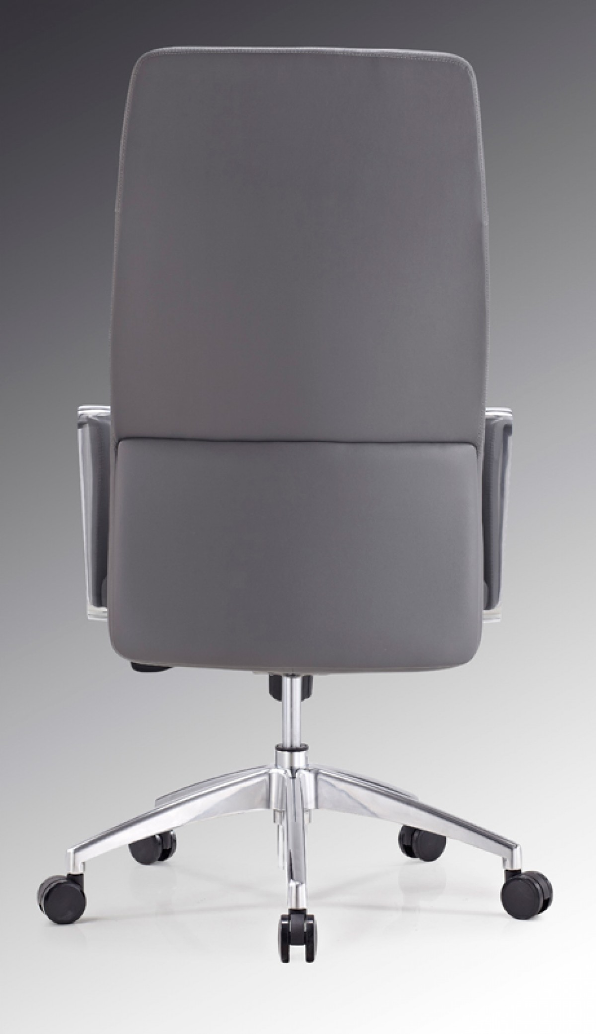 contemporary leather high office chair black. Contemporary Leather High Office Chair Black