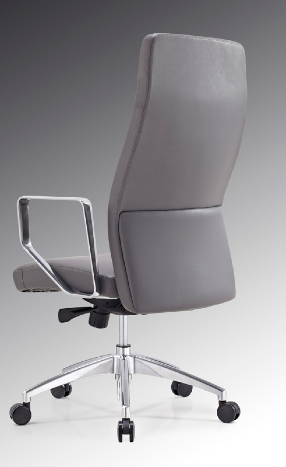office office chairs modrest barra modern grey high back office chair