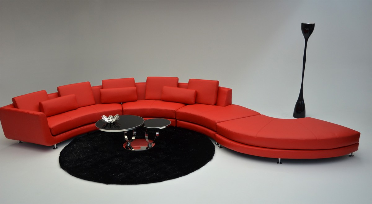 Astonishing Modern Contemporary Circle Sectional Sofa Gmtry Best Dining Table And Chair Ideas Images Gmtryco