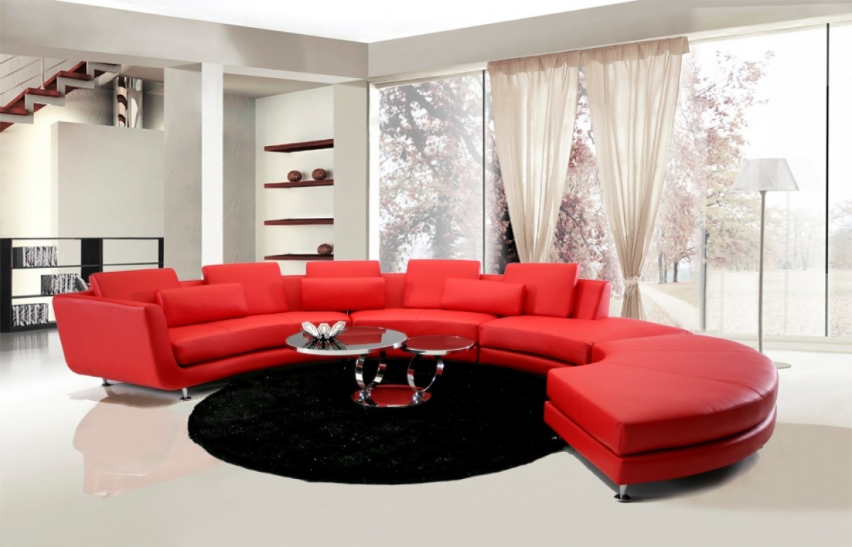 Modern Contemporary Circle Sectional Sofa