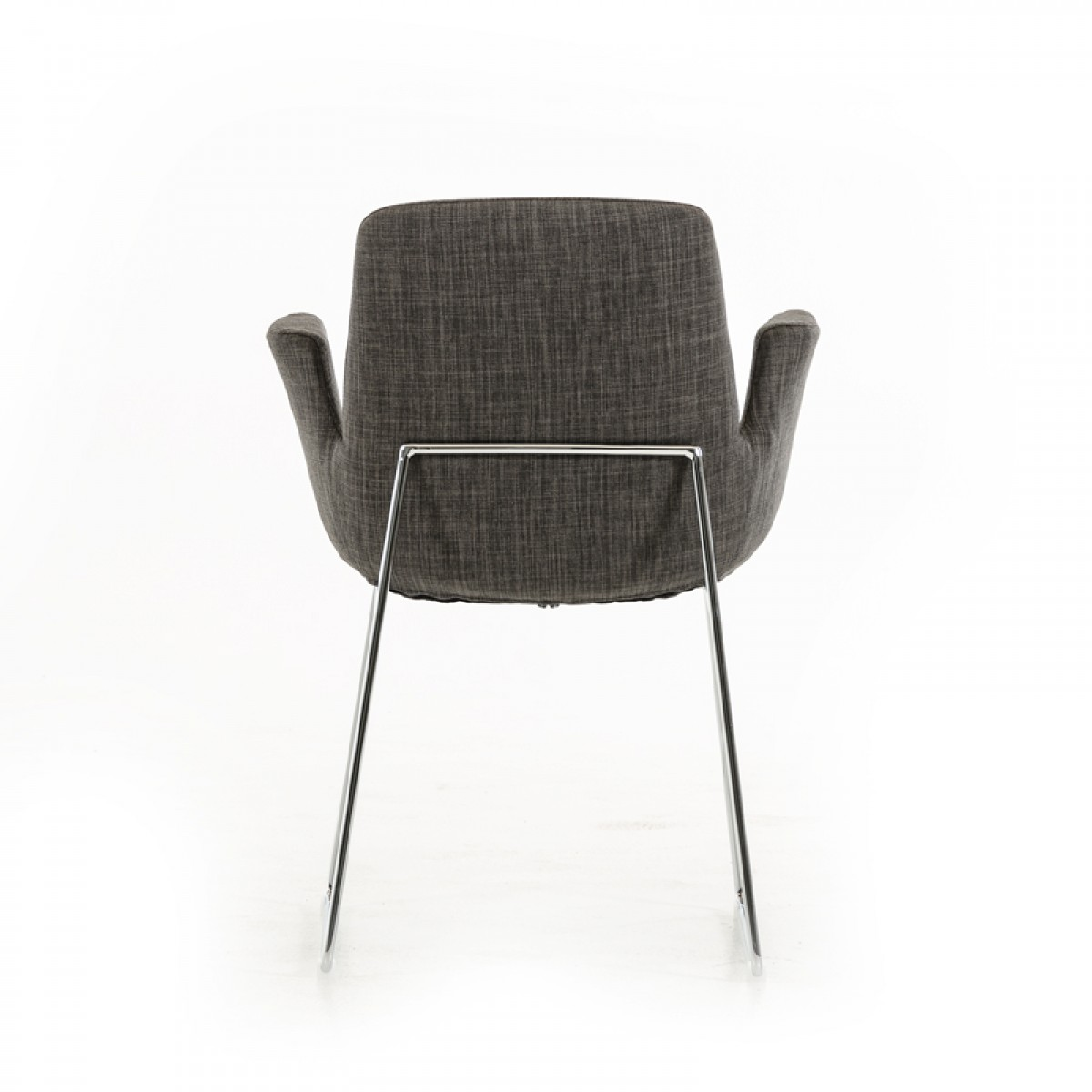 dining dining chairs modrest altair modern grey fabric dining chair