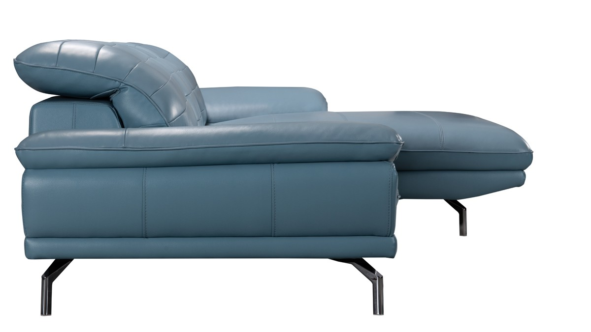 sc 1 st  VIG Furniture : teal leather sectional - Sectionals, Sofas & Couches