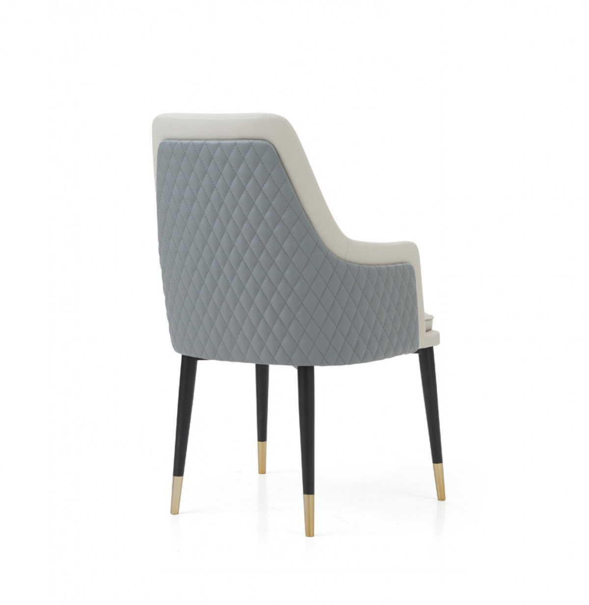 Modrest Duval Modern Grey Dining Chair Dining Chairs