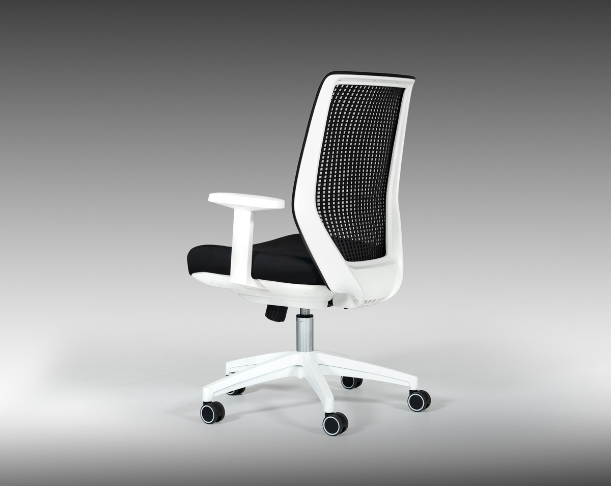 Modrest Bayer Modern Black Amp White Office Chair Office