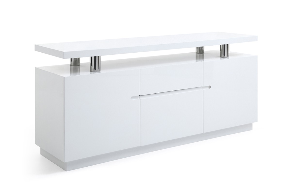 Design White Credenza modrest stanford modern white office credenza desks office