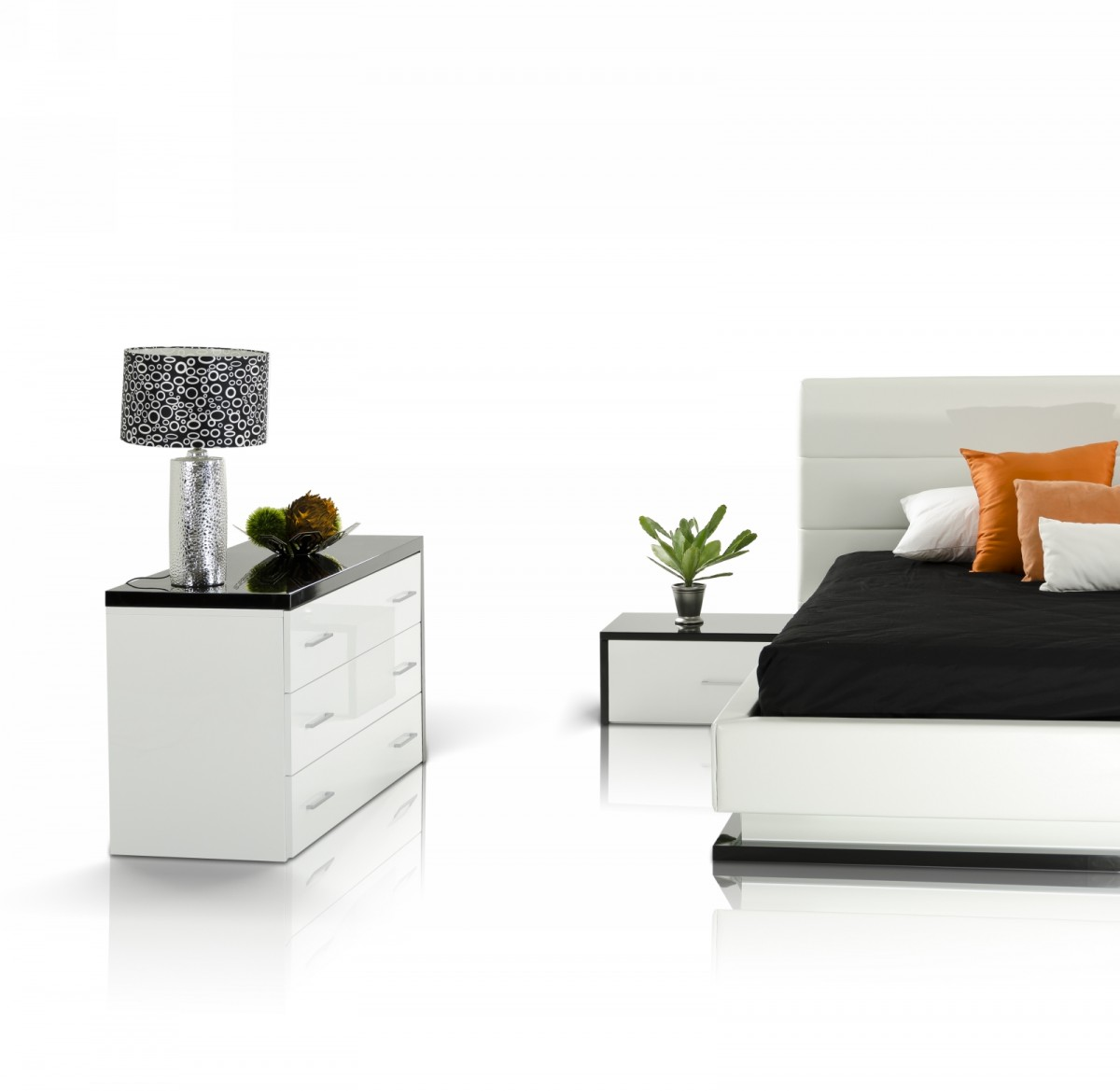 modrest infinity contemporary white black bedroom set 16329 | dsc 9576 1