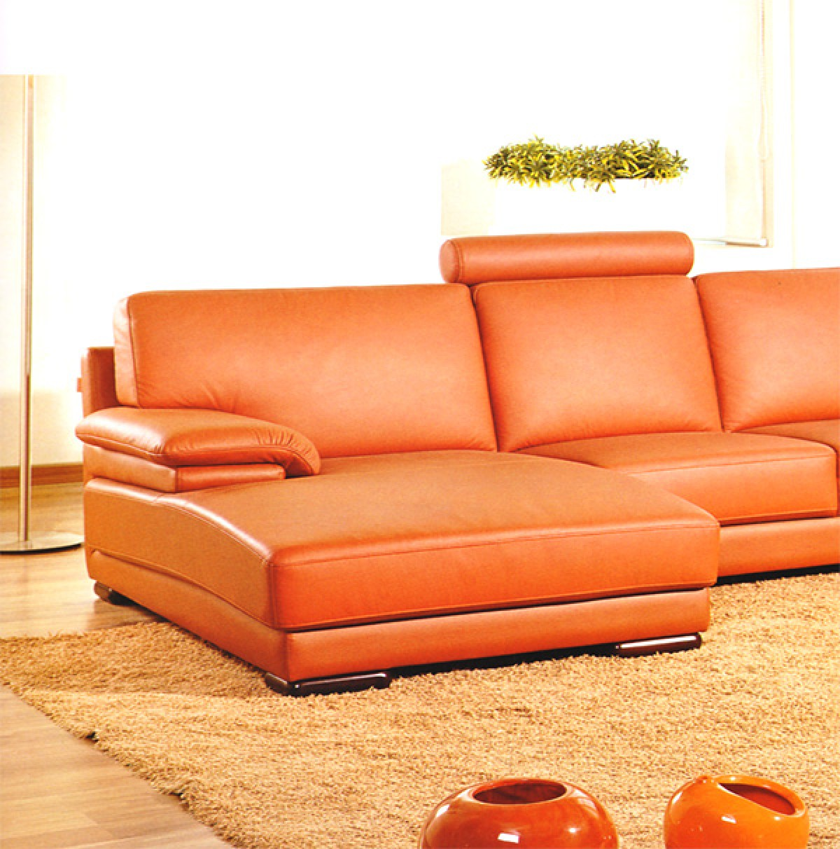 Divani casa 2227 modern leather sectional sofa divani for X furniture catalogue