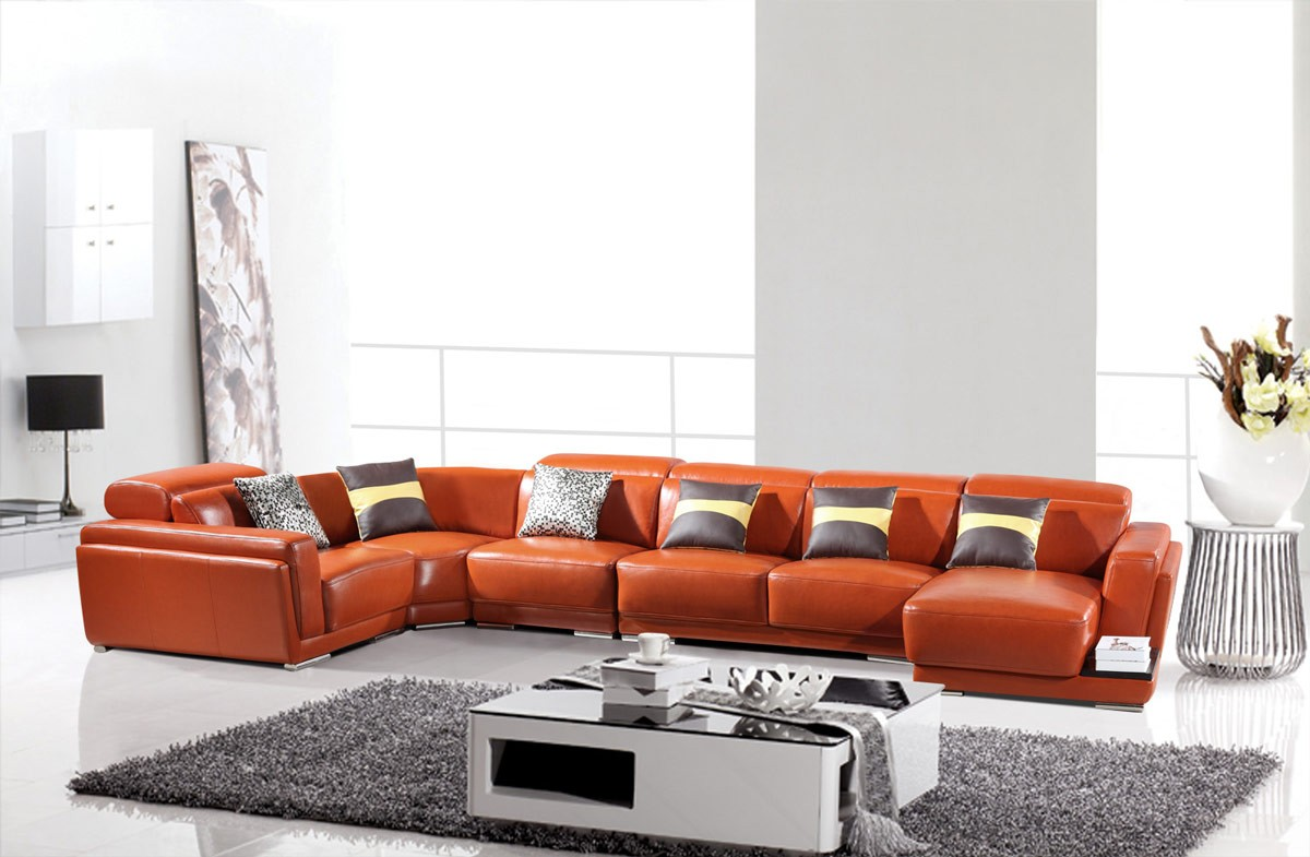 stands tv living leather poliaris polaris orange couch furniture b room sectionals sofa