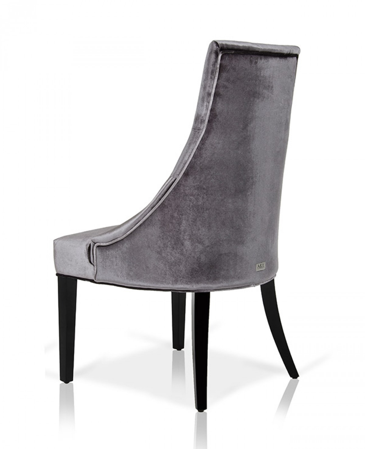 Charlotte Grey Velour Dining Chair Set of 2 Dining  : image3279 from www.vigfurniture.com size 1200 x 1477 jpeg 123kB