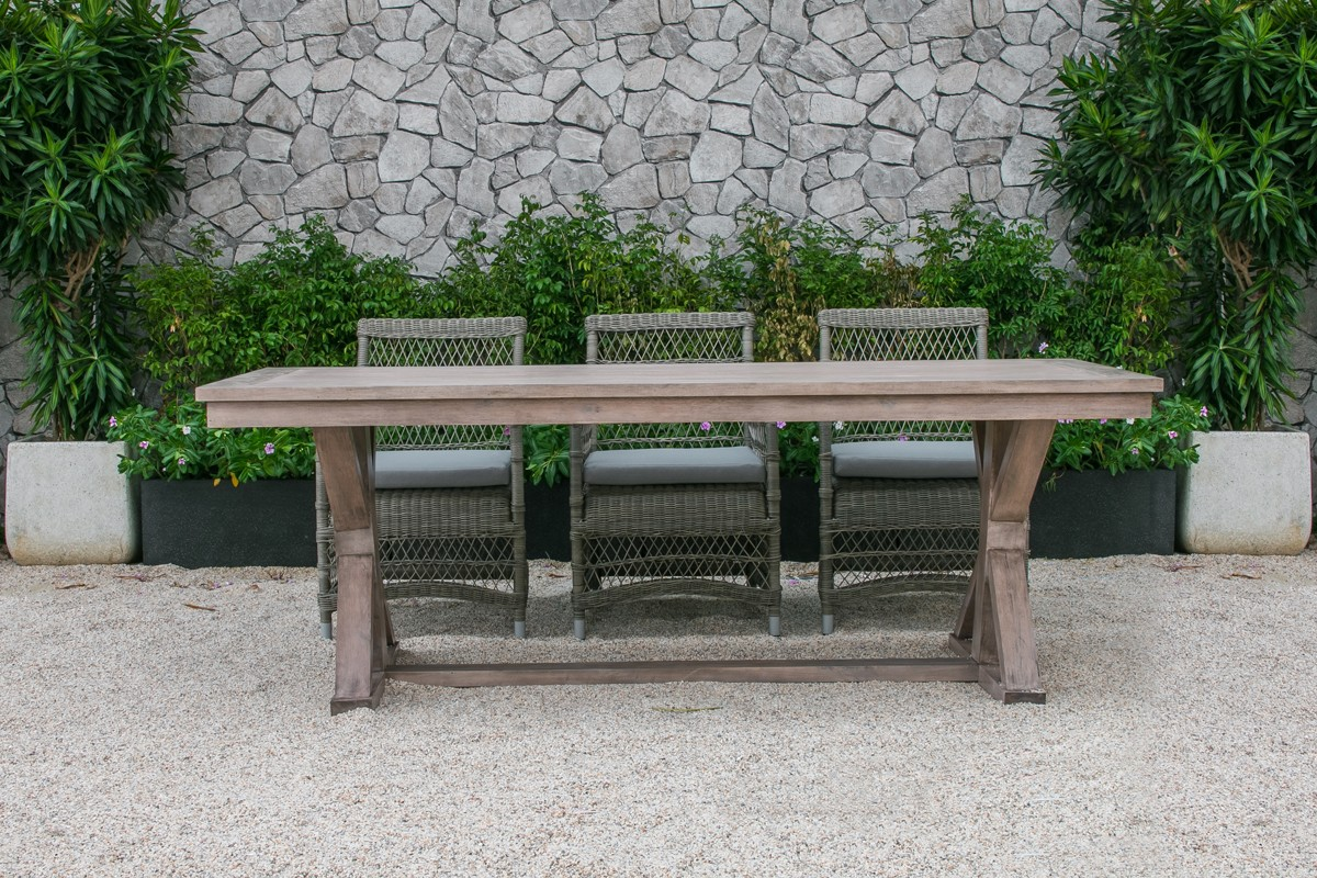 Renava sonoma outdoor dining table set ebay - Set de table new york ...